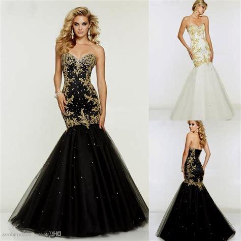 Black N Gold Prom Gown black and gold mermaid prom dresses 2015 naf dresses