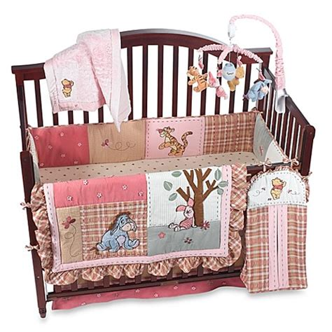 winnie the pooh nursery bedding disney s winnie the pooh delightful day crib bedding accessories buybuy baby