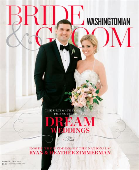 Wedding Magazine Design by Washingtonian Groom Magazine A Design Cuisine