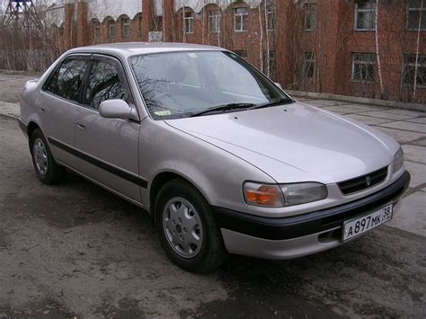 Toyota Corolla Weight Toyota Corolla 1 8 1995 Technical Specifications