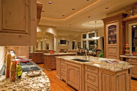 kitchen with 2 islands 124 custom luxury kitchen designs part 1