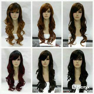 Sisir Wig Dan Hairclip jual wig murah hairclip murah grosir eceran