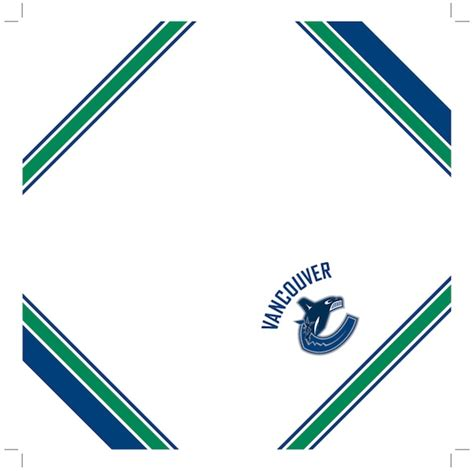Origami Paper Vancouver - canucks origami fan do it