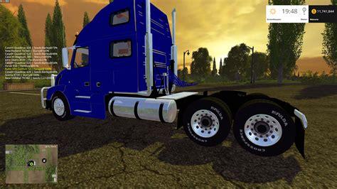 2015 volvo trucks for volvo vnl 780 blue farming simulator 2017 mods farming
