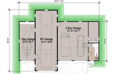 House Plans With Rv Garage by Island Rv Garage 45 Motor Home Southern Cottages