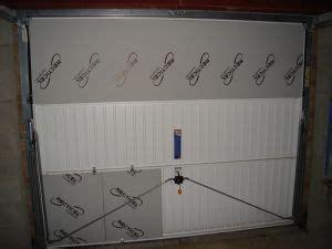 isolation et porte de garage basculante