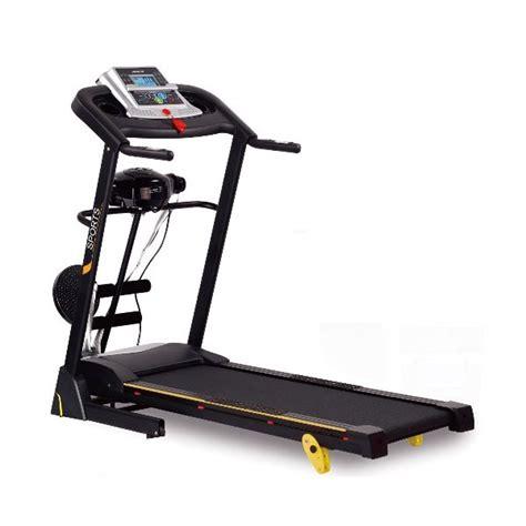 idachi treadmill elektrik 4 fungsi id 5538 m alat fitness alat dan olahraga elevenia