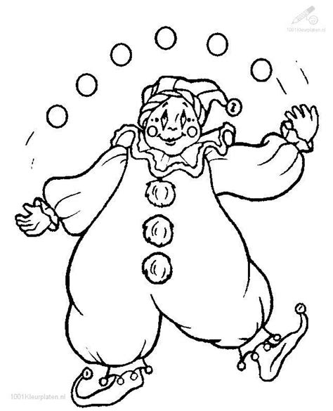 coloring pages of clown hats 17 images about circus carnival carousel coloring on