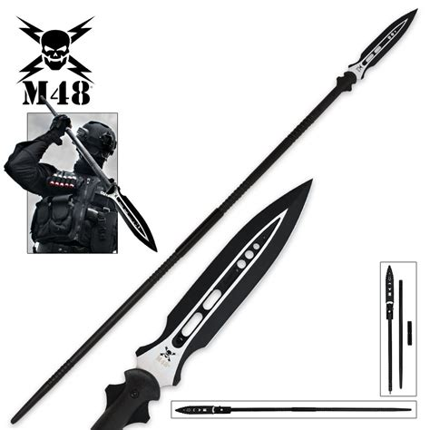 spear sale m48 magnum spear with sheath budk knives swords