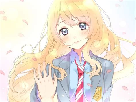 popular anime girl characters  blonde hair