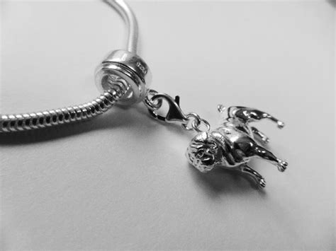pug charm pug charm small dogs from silver charms