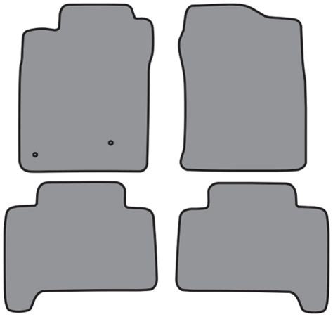 2003 2008 toyota 4runner cutpile 4pc factory fit floor