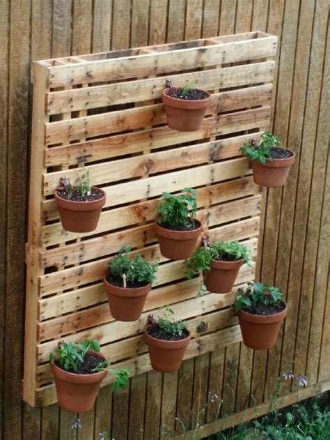 container garden design plantscaping pallet garden