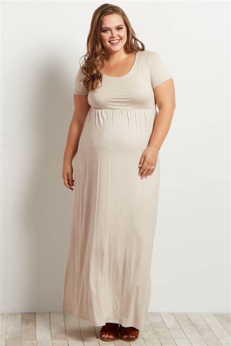 Basic Line Maxi Dress black basic sleeve plus size maxi dress