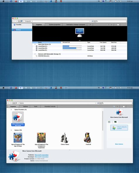 gray themes for windows 8 1 new osx style gray version theme for windows 7 by zeusosx