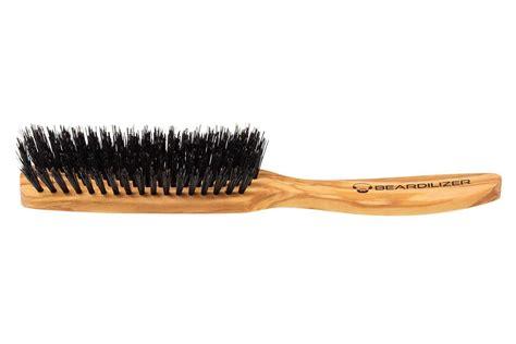 The Brush boar s bristle beard brush 5 rows beardilizer