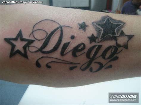 imagenes tatuajes q digan gustavo tatuaje de diego estrellas nombres