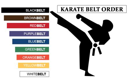 karate belt order of colors all you need to about karate belt order and colours