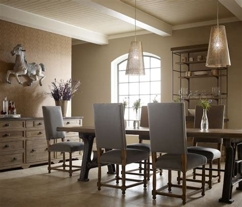 barn house industrial dining room industrial dining