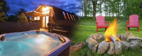 Sugarcreek Ohio Cabins briarwood amish country cabins on the edge of a wood by