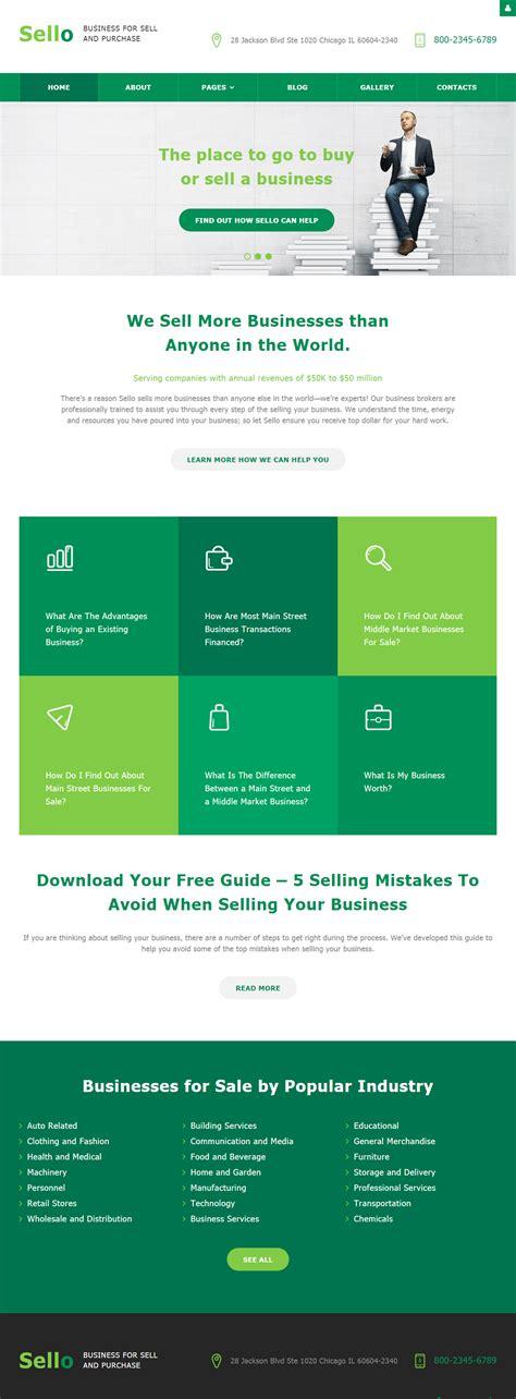 sello premium responsive business joomla template