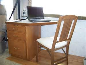 Computer Desk In Rv 1999 Fleetwood Discovery 1 Slide 55000 Rv Loco