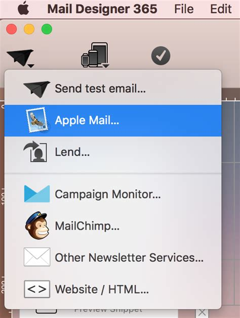 saving your email template as stationery within apple mail