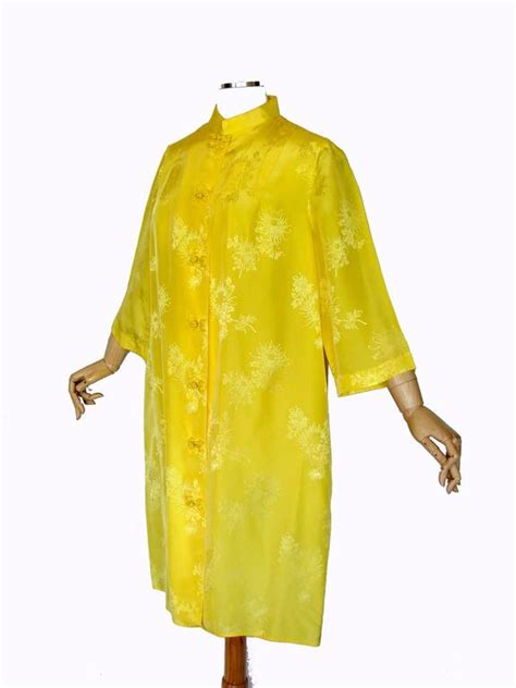 Black Jacquard Kaftan dynasty yellow silk jacquard kaftan dress cover