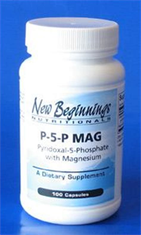 mag o supplement p 5 p mag pyridoxal 5 phosphate w magnesium autism