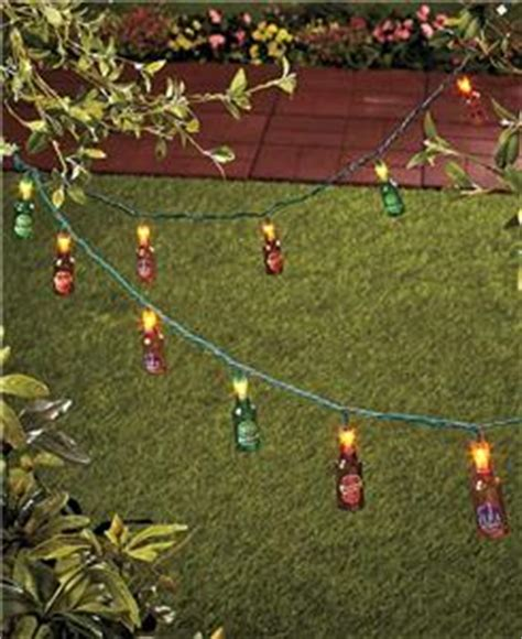 outdoor novelty string lights bottles lights