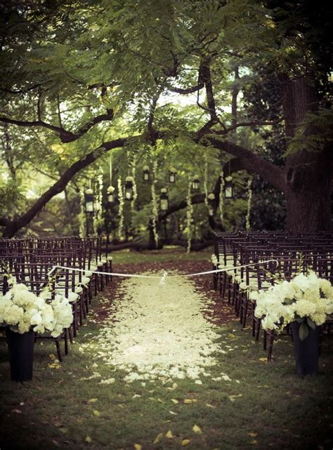 romantic backyard wedding romantic outdoor wedding ceremony wed pinterest
