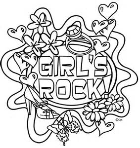 rock and roll free coloring pages on art coloring pages