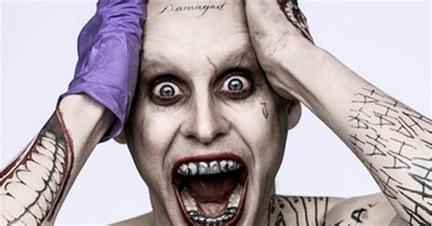 joker tattoo controversy joker s tattoos have meaning in suicide squad cosmic