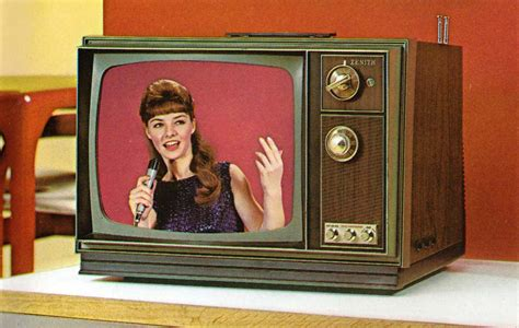 when were colored tvs invented the amazing 1971 zenith color tv flashbak