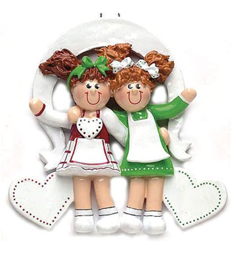 personalized friends christmas ornaments sisters friends personalized christmas ornament