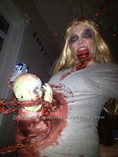 scariest pregnant zombie costume