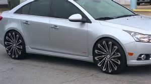 chevrolet cruze on 22 inch wheels