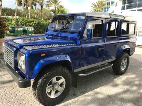 land rover defender convertible for sale 1988 land rover defender for sale classiccars com cc