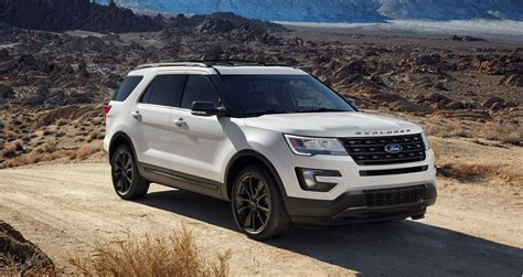 white ford explorer sport 2017 ford explorer xlt sport pack is high impact styling