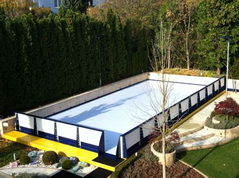 17 best images about backyard synthetic rink projects