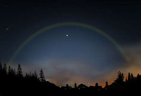 Exclusively Beautiful Moonbow ? Rainbow at Night ? Design Swan