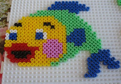 hama bead fish designs 30 best sea critters images on bead patterns