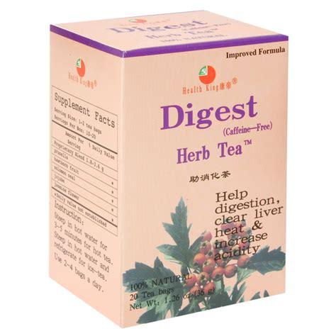 Health King Detoxer Herb Tea Test by Health King Balanceuticals Digest Tea Caffeine