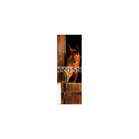 Papier Peint Trompe L Oeil Porte by Papier Peint Pour Porte Trompe L Oeil D 233 Co Cheval R 233 F 519