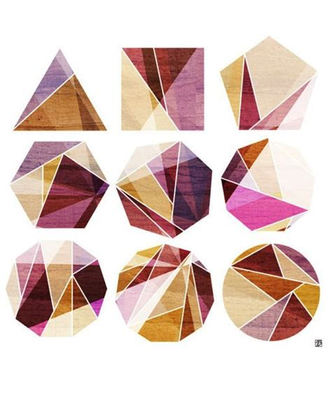pattern making with different shapes best 25 geometric shapes ideas on pinterest geometric