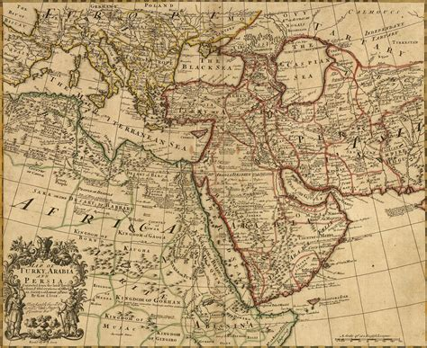 ottoman geography maps of middle east