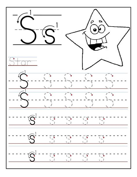 printable alphabet letter sheets printable letter s worksheets activity shelter