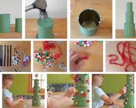 le basteln 25 bastelideen zu weihnachten aus recycling materialien