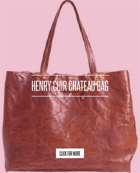 Henry Cuir Chateau Bag by Henry Cuir Chateau Bag Lifestyle