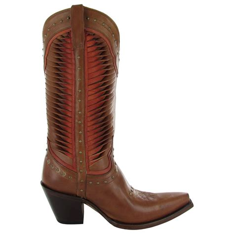 lucchese womens cheyenne western fashion boot shoe ebay